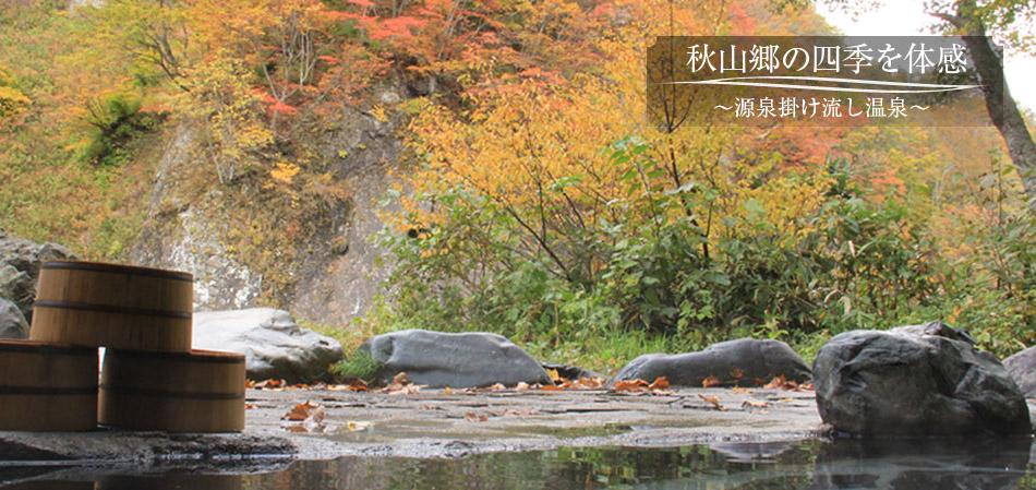 秋山郷の四季を体感